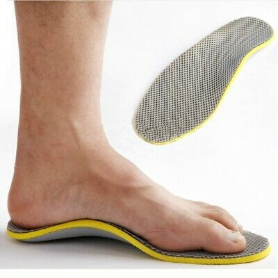 Women Cushion Shoes Insole Mesh Men Arch Support Cuttable Fashion Shoes Pad LR • 3.43£