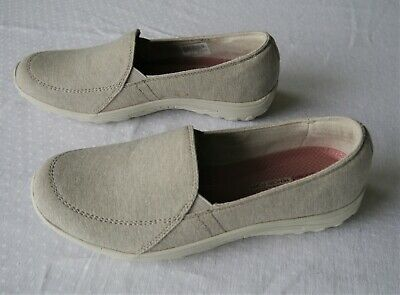 Skechers Reggae Fest Rooted Taupe Memory Foam Trainers Shoes - Size 6.5 *RRP £55 • 27.99£