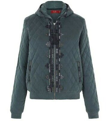 AU50 • Buy Tigerlily Quilted Jacket Size 12 Bnwot Rrp$195.00