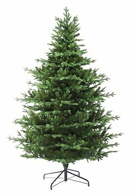 EveXmas Hagen Realistic Christmas Tree 5ft 6ft 7ft 8ft PE+PVC Tip + Metal Stand • 52£