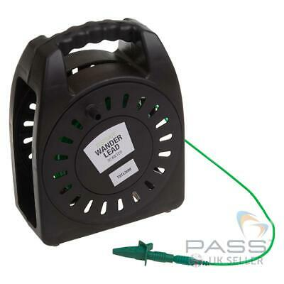 *NEW* TestSafe 30M R2 Extension Wander Test Lead (PVC Cable Reel) / UK • 39.99£