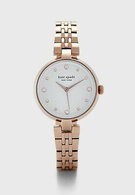 $ CDN136.45 • Buy NWT Kate Spade NY KSW1594 Rose Gold Stainless Steel 30mm Women's Quartz Watch