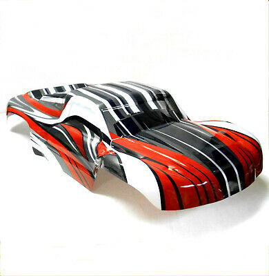 73903 RC 1/8 Scale Monster Truck Truggy Body Shell Cover Red Short Course • 26.99£