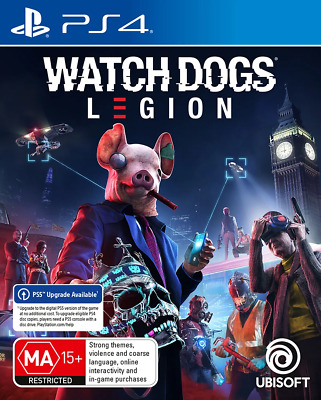 AU84.95 • Buy Watch Dogs Legion PS4 Game NEW