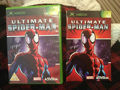 £3.99 • Buy XBOX ULTIMATE SPIDERMAN BOX AND INSTRUCTION BOOK ONLY No Game