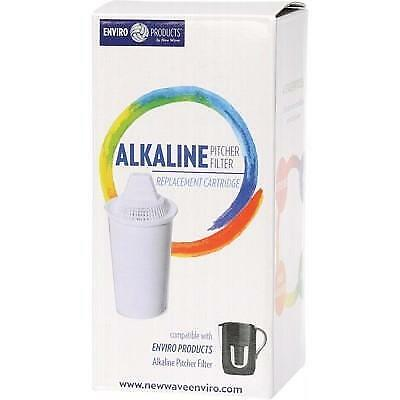 ENVIRO PRODUCTS Alkaline Pitcher Water Filter Replacement Cartridge • 12.80£