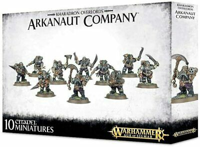 AU49.30 • Buy Games Workshop 84-35 Kharadron Overlords Arkanaut Company Miniatures (Set Of 10)