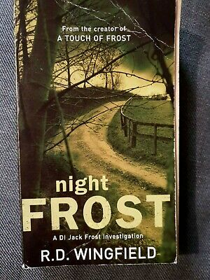 Night Frost Di. Jack Frost By R.D.Wingfield Paperback Book (20) • 0.99£