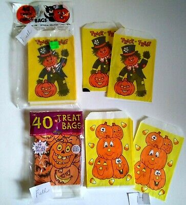 $ CDN22.46 • Buy Vintage Halloween Treat Bag Lot Fun World Various Designs 90+