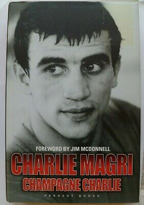 £5 • Buy BOXING BOOK : CHAMPAGNE CHARLIE By Charlie Magri