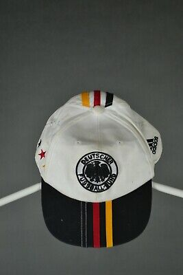 Adidas GERMANY CAP HAT CAP SNAPBACK VINTAGE Germany DFB Adult One Size 90s • 24.99£