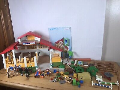 Playmobil Horse Farm Stables Building 4190 Riding Accessories Figures Country • 59.99£