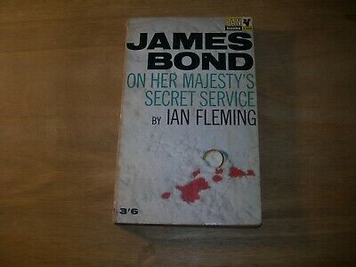 On Her Majesty's Secret Service By Ian Fleming PAN X350 1965 4th Print - Good  • 7.99£