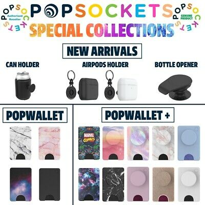 AU39.80 • Buy Genuine Popsockets Universal Grip AirPods Holder Pop Socket -Special Collections