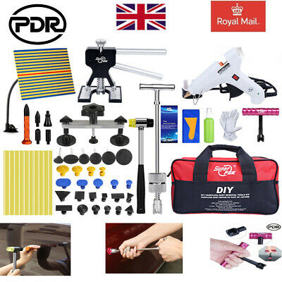 46pcs PDR Tools Auto Paintless Hail Repair Dent Puller Lifter Dent Removal Kit • 65.99£