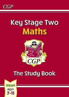 KS2 Maths Study Book CGP Sats Learn With Colourful Pictures Kids Age 7-11 Years • 5.95£