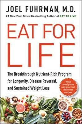 Eat For Life By Joel Fuhrman (author) • 18.25£
