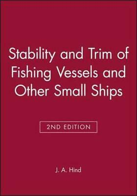 £41.69 • Buy Stability And Trim Of Fishing Vessels By J. Anthony Hind