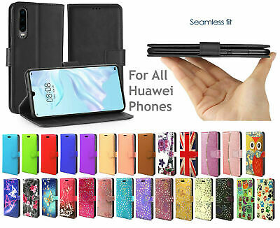 Case For Huawei P20 P30 Pro Lite Leather Cover Flip Smart Stand Wallet  • 2.99£