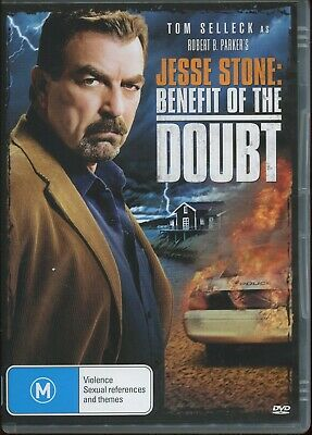 TOM SELLECK Is JESSE STONE - BENFIT OF THE DOUBT - IMPORT R4 - SEE DESCRIPTION • 7.95£