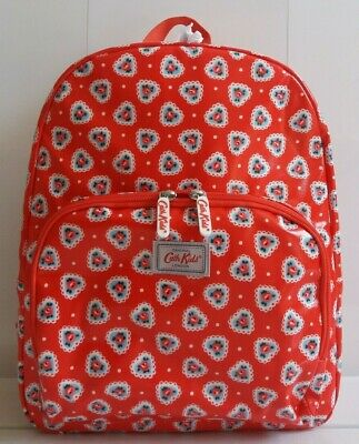 # # # Cath Kidston Large Backpack Lace Heart # # #  • 32£