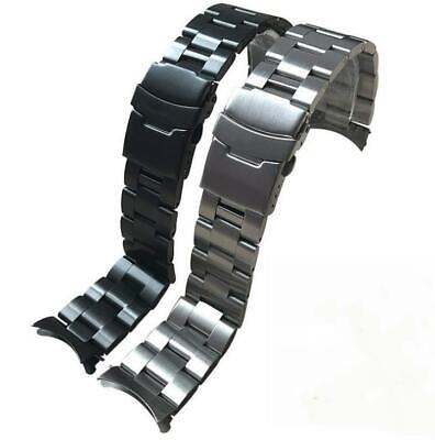 $ CDN15.61 • Buy 20-22mm Curved Stainless Steel Solid Bracelet Watch Strap Band For Seiko SKX007