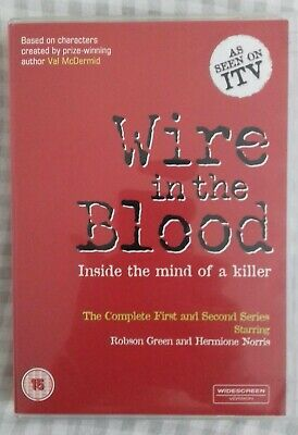 Wire In The Blood Complete First And Second Series  • 5£