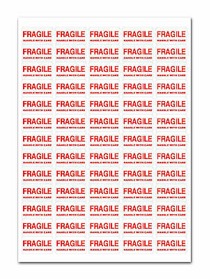 650+ - FRAGILE - Handle With Care Labels Small Stickers • 2.99£