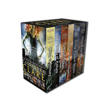 The Mortal Instruments Slipcase: Six Books By Cassandra Clare (Paperback, 2014) • 30£