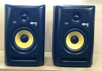 KRK Rokit 5 Powered RPG 2 Speakers Pair + GUARANTEE  • 230£