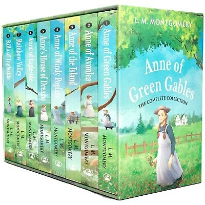 The Complete Anne Of Green Gables Collection 8 Books Set By L. M. Montgomery NEW • 21.86£