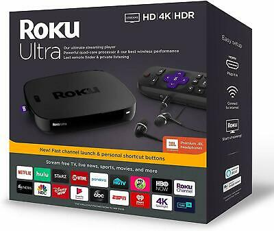 AU194.50 • Buy Roku Ultra 4670R UHD HDR Streamer Stick NETFLIX PLEX AMAZON PRIME VIDEO DISNEY+