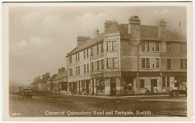 £25 • Buy CORNER OF QUEENSFERRY ROAD AND PARKGATE, ROSYTH - Fife Postcard (P3496)