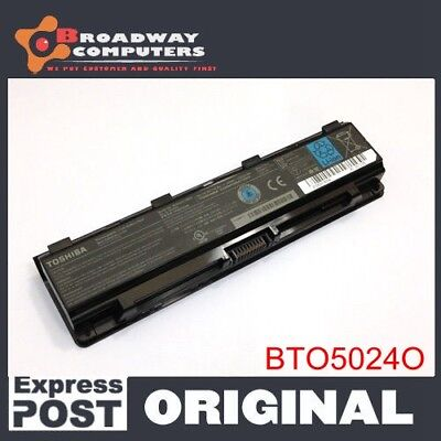 AU40 • Buy Genuine Laptop Battery For Toshiba PA5023U-1BRS PA5024U-1BRS PA5025U-1BRS C850