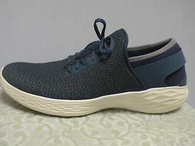 Skechers Slippers Sneakers Low Shoes Size 41 Blue (551) • 47.21£