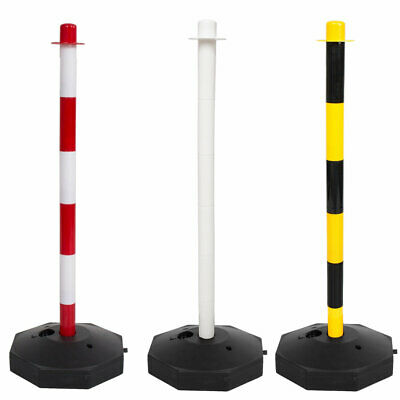£25.99 • Buy Post & Base Safety Security Queue Crowd Traffic Barrier System For Plastic Chain