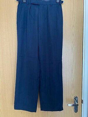 Royal Air Force Cadet Men's Size 75/76/92 Blue No. 2 Dress Trousers • 9.99£
