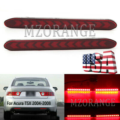 $28.66 • Buy LED Rear Bumper Reflector Brake Light For Acura TSX 2004 2005 2006 007 2008 Lamp