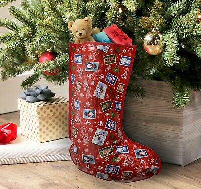 £3.99 • Buy Kids Father Christmas Presents Santa Toys Gift Stocking Sack Plastic Party Bags