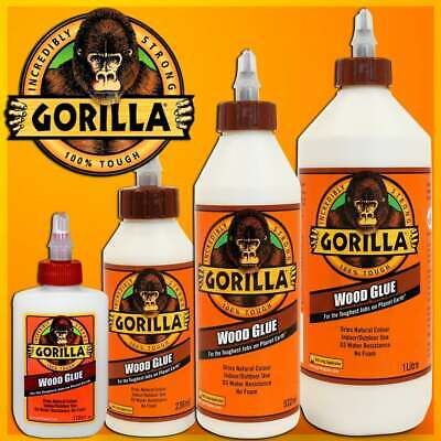 Gorilla Wood Glue PVA Adhesive Toughest DIY Fast Repair Water Resistance Strong • 5.40£