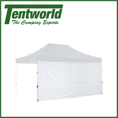 AU49.90 • Buy Oztrail Gazebo Solid Wall Centre Zip 4.5m