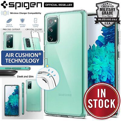 AU29.99 • Buy SPIGEN Crystal Ultra Hybrid Bumper Hard Cover For Samsung Galaxy S20 FE/5G Case