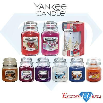 Yankee Luxury Glass Jar Candles Home Fragrance Gift & Candle Burner - LARGE JARS • 14.95£