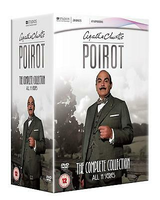 Agatha Christie's Poirot - Complete Collection   32 Disc Box Set   • 49.99£