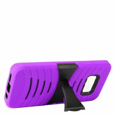 For Samsung Galaxy S8 Plus Purple Wave Symbiosis Silicone Hybrid Case Cover • 4.09£