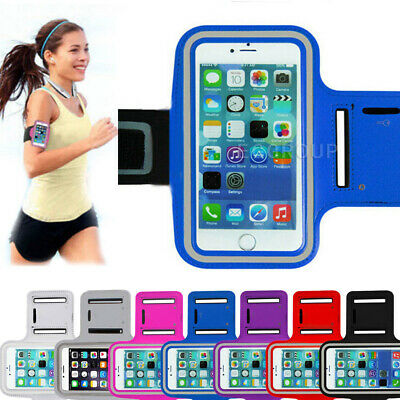 AU19.99 • Buy Sports Armband Phone Holder Arm Band Case Running Gym Pouch Exercise Bag RP 2021