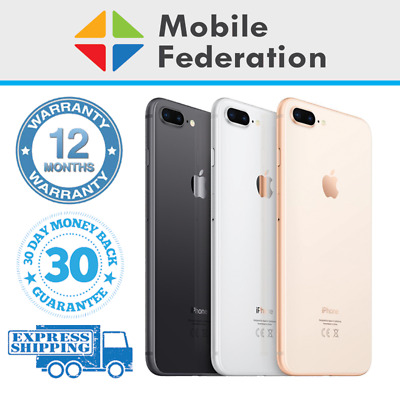 AU359 • Buy Apple IPhone 8 Plus 8+ Touch ID Or Home Button Imperfect 64GB 256GB Unlocked