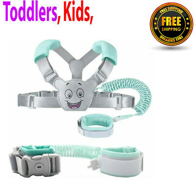 Baby Reins Walking Harness For Toddlers, Kids, Children, 3-in-1, Anti Lost • 12.49£