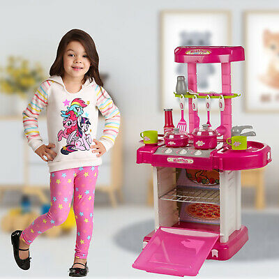 £24.99 • Buy Electronic Children Kids Kitchen Cooking Toy Portable Girls Cooker Play Set Gift