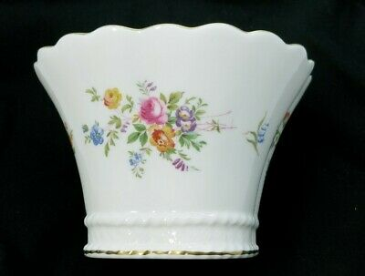 MINTON MARLOW FLORAL VASE BOWL Bone China Made In England • 26.68£